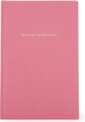 KATE SPADE NEW YORK 'Eat Cake for Breakfast' journal