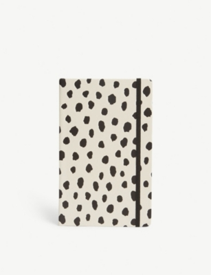 KATE SPADE NEW YORK Polka dot notebook 21cm x 13cm