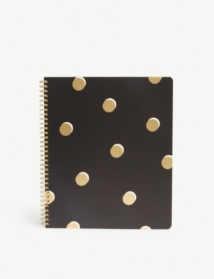 KATE SPADE NEW YORK Dot Print Notebook 28x24cm