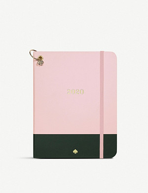 KATE SPADE 12 month 2020 medium colour block planner 20x16cm