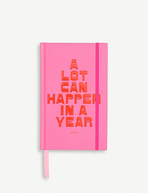 BANDO A Lot Can Happen In A Year 12-month planner 21cm x 13cm