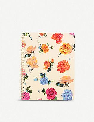 BANDO: Coming Up Roses notebook 23cm x 18cm
