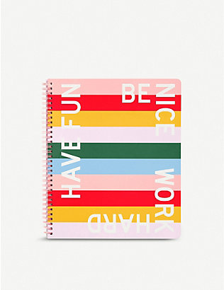 BANDO: Have Fun Be Nice notebook 28cm x 23cm
