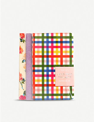 BANDO: Hold That Thought notebooks set of three