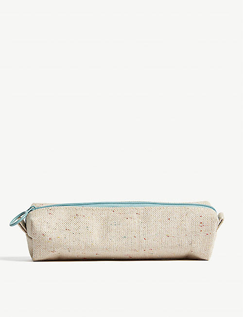 DARLING CLEMENTINE Space dye canvas pencil case