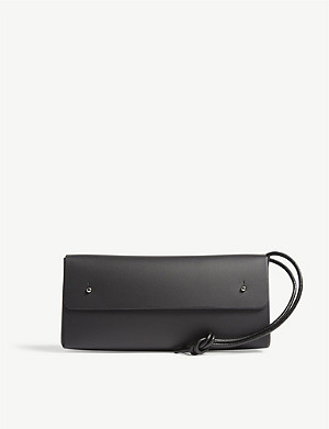 WALK WITH ME Leather pouch