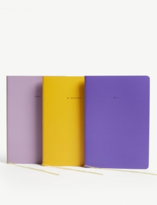 THE SCHOOL OF LIFE The Feminists notebooks set of three