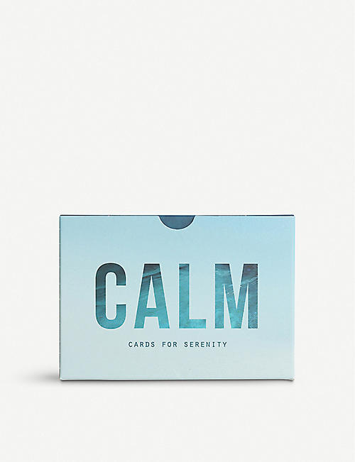 THE SCHOOL OF LIFE Calm prompt cards set of 60