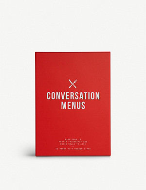 THE SCHOOL OF LIFE Conversation menus set of 20