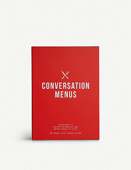 THE SCHOOL OF LIFE: Conversation menus set of 20