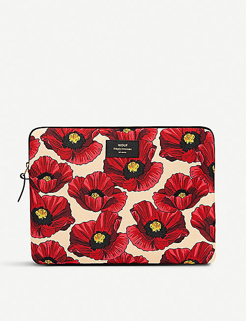 "WOUF Poppy 13"" laptop case"