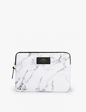 WOUF White Marble iPad case