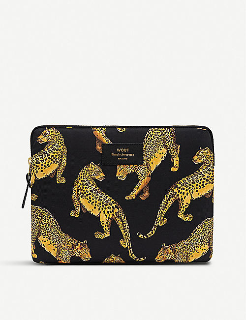 WOUF: Black Leopard iPad case