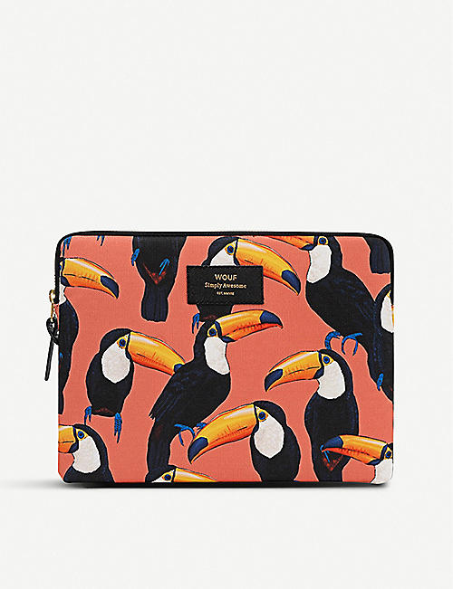 WOUF Toco Toucan iPad case