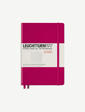 LEUCHTTURM1917 Weekly planner and notebook 2020 A5