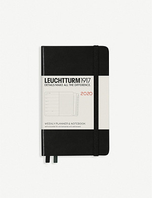 LEUCHTTURM1917 Weekly planner and notebook 2020 A6