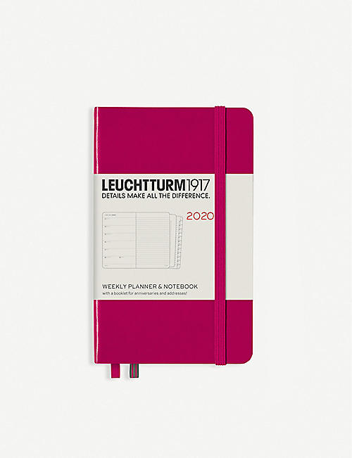 LEUCHTTURM1917 18-month weekly planner and notebook A6