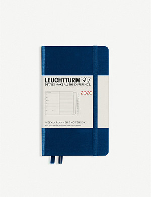 LEUCHTTURM1917 12-month weekly planner and notebook A6