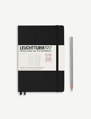LEUCHTTURM1917 18-month weekly planner and notebook A5