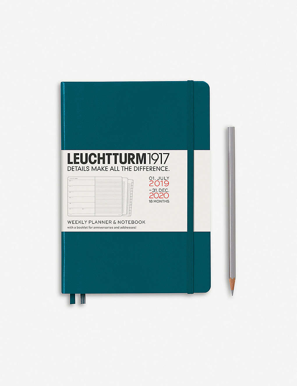 LEUCHTTURM1917: 18-month weekly planner and notebook A5