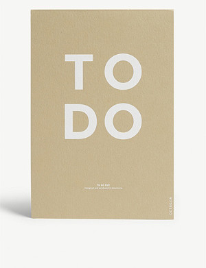 OCTAGON A5 To-do list notepad