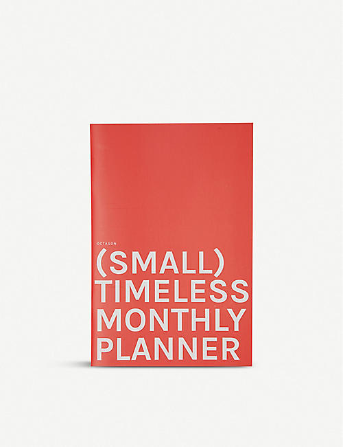 OCTAGON (Small) Timeless Monthly Planner 13.5cm x 20cm