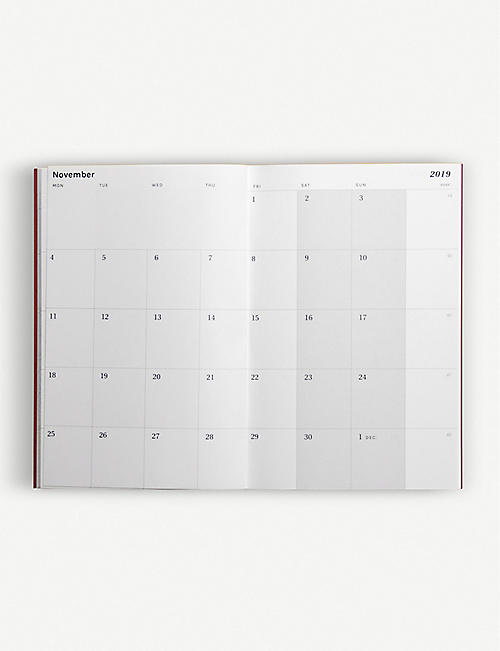 OCTAGON 2019 Mini monthly planner 9.5cm