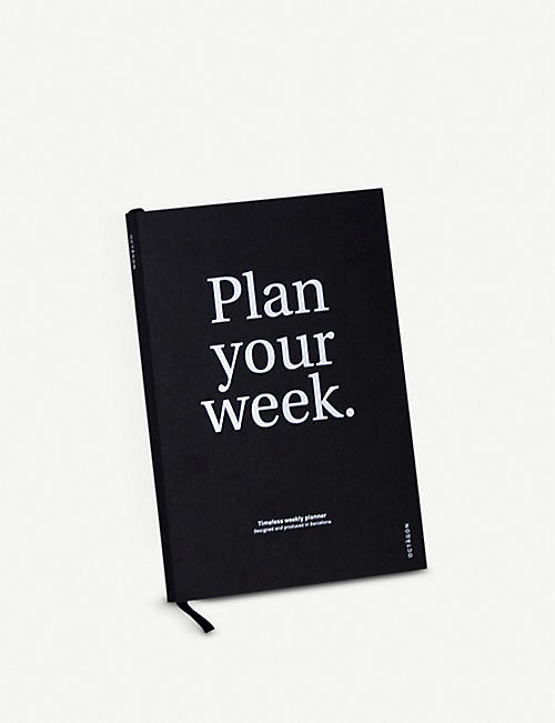 OCTAGON Plan Your Week perpetual planner