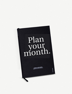 OCTAGON Plan Your Month perpetual planner