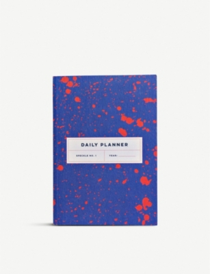 THE COMPLETIST Speckle undated daily planner