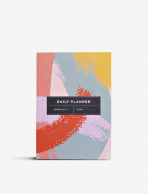 THE COMPLETIST Swirls undated daily planner