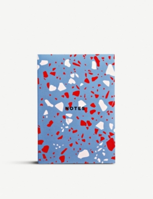 THE COMPLETIST Terrazzo A5 notebook