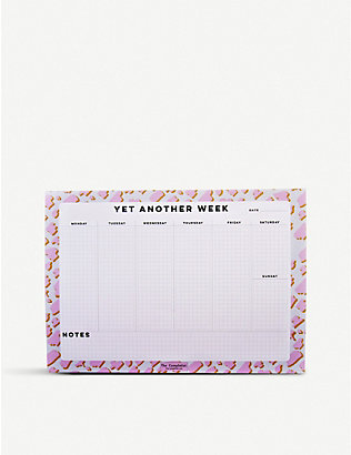 THE COMPLETIST: Animal Weekly Planner Pad