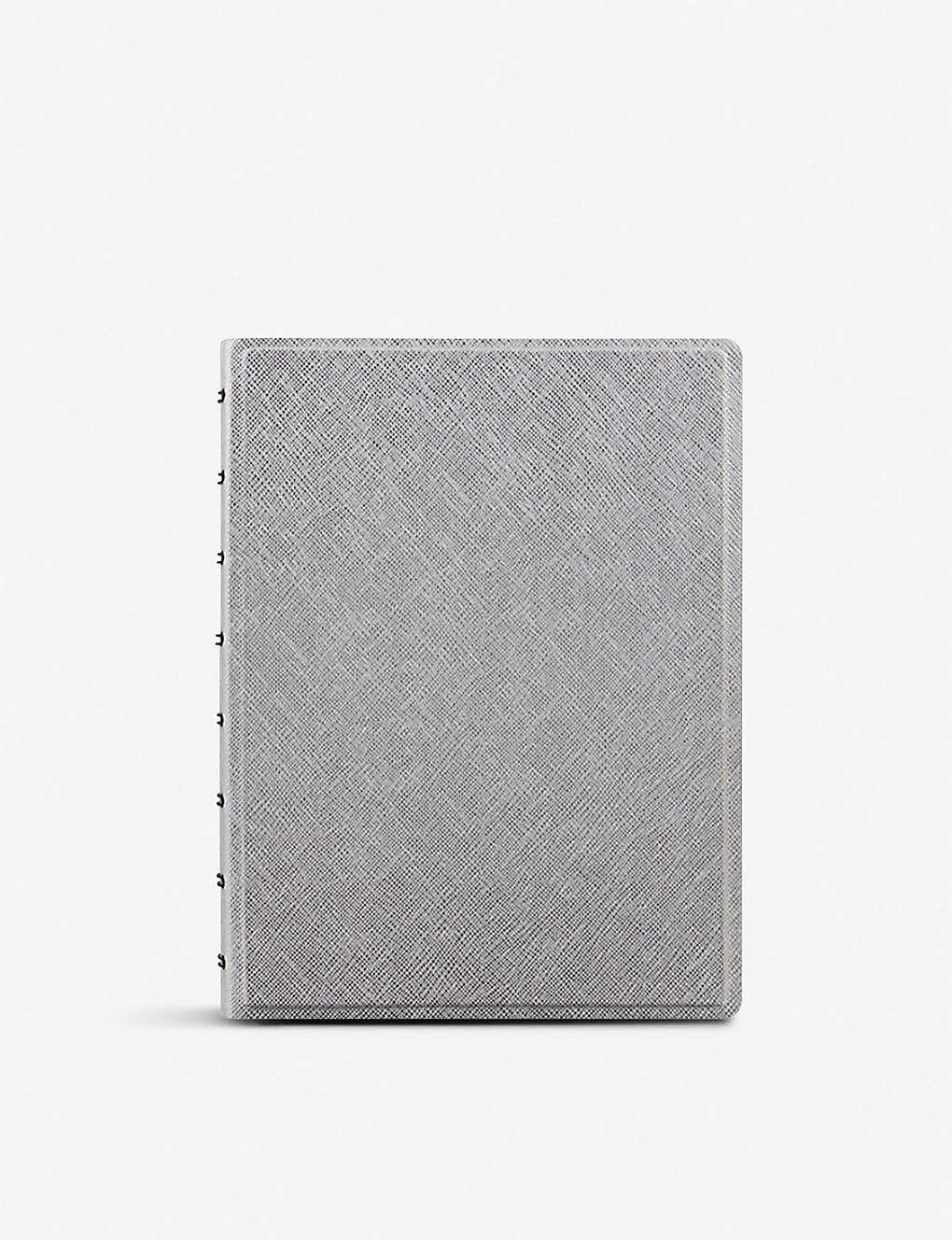 FILOFAX: Saffiano faux-leather notebook A5