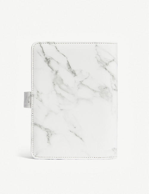 FILOFAX Patterns A6 marbled faux-leather personal organiser 2018-19