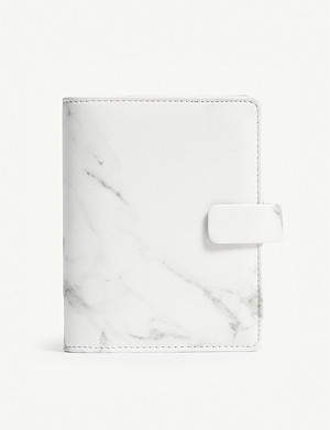 FILOFAX Patterns A7 marbled faux-leather personal organiser 2018-19