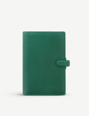 FILOFAX Personal Finsbury forest green personal organiser