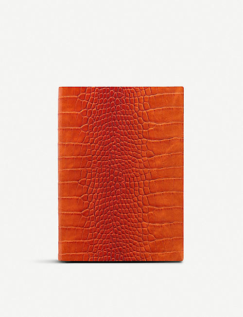 LETTS Croc-embossed 2020 week to view diary A5