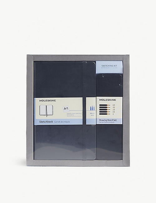 MOLESKINE: Art collection sketching kit