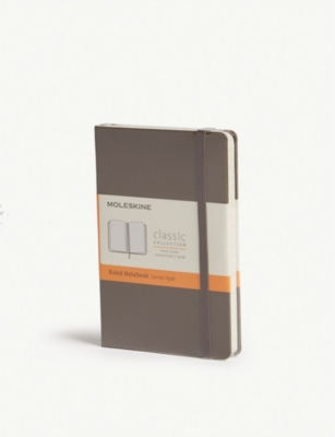 MOLESKINE Ruled hard cover notebook 14cm x 9cm