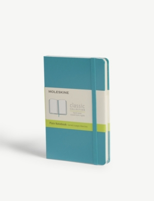 MOLESKINE Plain hard cover pocket notebook 14cm x 9cm