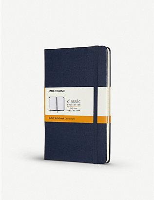 MOLESKINE: Classic ruled notebook 17.5cm x 11cm