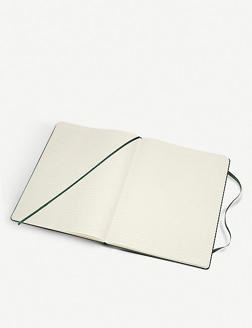 MOLESKINE Classic collection ruled hardcover notebook 25cm x 19cm