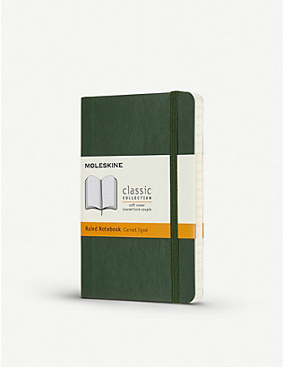 MOLESKINE: Classic collection pocket ruled hardcover notebook 14cm x 9cm