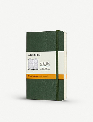 MOLESKINE Classic collection pocket ruled hardcover notebook 14cm x 9cm