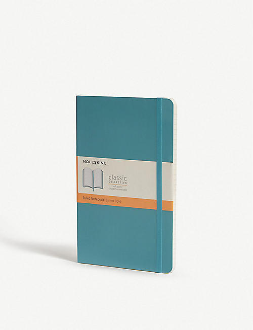 MOLESKINE Classic soft-cover ruled notebook 21cm x 13cm