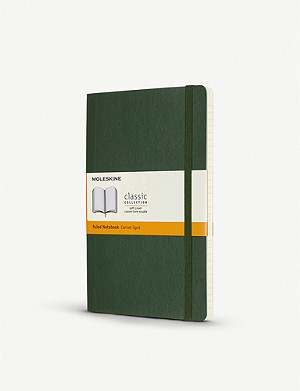 MOLESKINE Classic collection large ruled hardcover notebook