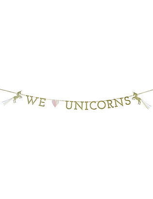 TALKING TABLES: We Heart Unicorns garland