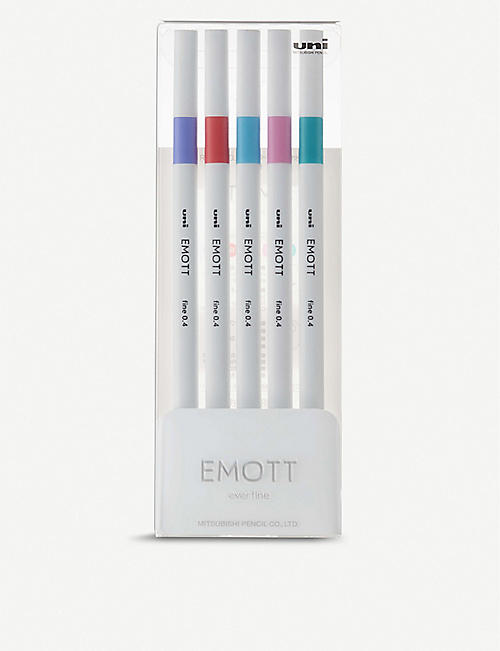 EMOTT Ever Fine pastel fineliner set of five