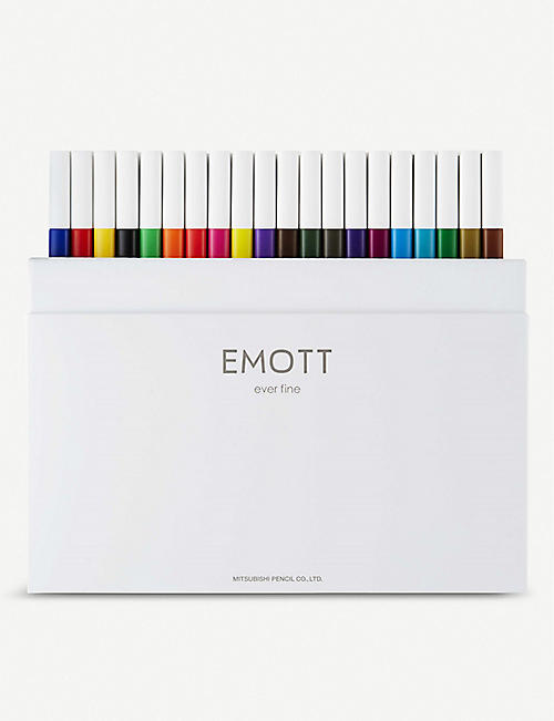 EMOTT Ever Fine fineliner set of 40